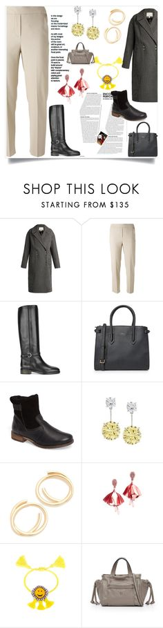 """""""My Style"""" by mkrish ❤ liked on Polyvore featuring TIBI, Salvatore Ferragamo, Furla, Josef Seibel, Fantasia by DeSerio, Elizabeth and James and Shourouk"""