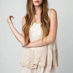 SINGLET SILK BOTTOM, BEIGE – Boutique Online Fashion Clothing Store | Marshmellow