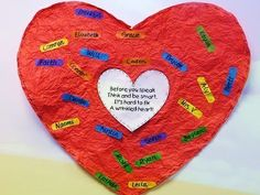 Squarehead Teachers: Wrinkled Hearts: Bully Prevention Lesson. Great for elementary school classrooms! Quick & easy lesson plan.