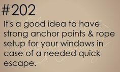 Zombie Apocalypse Survival Tip #202