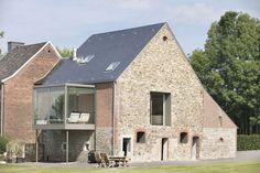 Un habitat performant au départ d'une vieille grange - Crahay & Jamaigne, Belgique