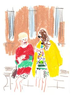 Les illustrations des modeux de Damien Florébert Cuypers