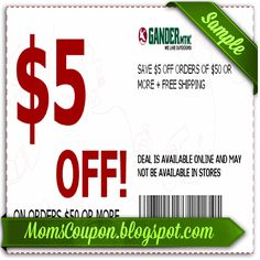 Expired Gander Mountain Promo Codes & Coupons