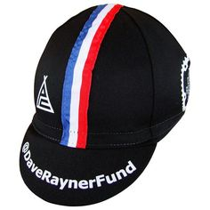 bfeb892a0bc Dave Rayner Fund Prendas Ciclismo Supporters Cotton Cap Cycling Gear