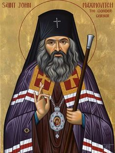 St. John of Shanghai and San Francisco, 20th c. saint.