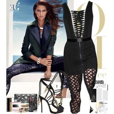 This morning by eleonoragocevska on Polyvore featuring moda, Givenchy, Dsquared2, Tiffany & Co., Giorgio Armani, Clarins, Yves Saint Laurent, Ralph Lauren, Chanel and GUESS by Marciano