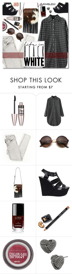 """""""Day Out With Friends"""" by talukder ❤ liked on Polyvore featuring Maybelline, Retrò, Patricia Nash, Steve Madden, Chanel, Bobbi Brown Cosmetics, Betsey Johnson and Too Faced Cosmetics"""
