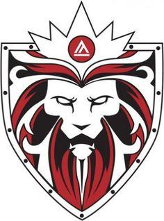 Lion Soccer Logo.