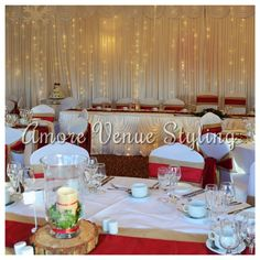 #Wedding #decor #starlight #twinkle #ceremony #top #table #skirt #reception #backdrop #winter
