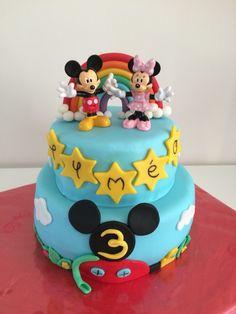 Gâteau Mickey Birthday Cake, Desserts, Food, Dessert Ideas, Tailgate Desserts, Birthday Cakes, Deserts, Essen, Dessert
