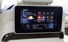 Über Tablet-PC vernetzt mit Auto und Internet