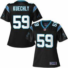 Pro Line Women's Carolina Panthers Luke Kuechly Team Color Jersey