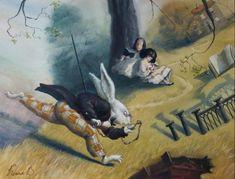 ALICE IN WONDERLAND - WHITE RABBIT BY VALERY KOZHIN