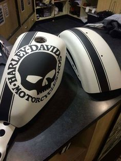 Cool gas tank paint