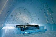 Ice Hotel in Jukkasjarvi(アイスホテル)