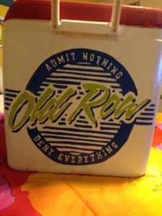 Old row logo cooler