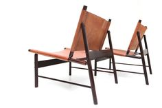 Jorge Zalszupin Pair of Lounge Chairs 5