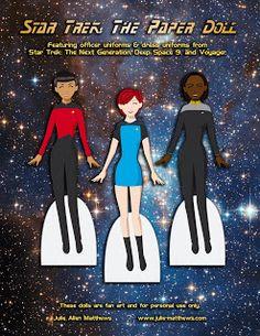 Star Trek Paper Dolls