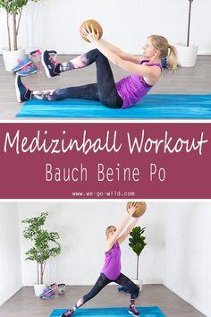 Du suchst nach effektiven Medizinball Übungen? Klicke hier für die besten Bauch Beine Po Übungen und Kraftübungen fürs zuhause. Dein Medizinball Workout fürs Wohnzimmer ist das perfekte Workout zuhause. Unser Ganzkörpertraining für Frauen macht dich fit und gesund. Wenn du jetzt gleich damit anfängst, ist es das perfekte Bikinifigur Workout #fitness #medizinball #workout Short Workout, Cardio Training, Workout Bauch, Gewichtsverlust Motivation, Pet Water Fountain, Beach Mat, Outdoor Blanket, About Me Blog, Yoga