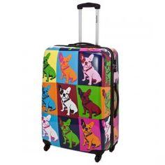 bulldog suitcase