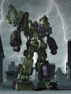 Devastator Fan Art 2014 by orangehexagon.deviantart.com on @deviantART