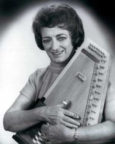 """Maybelle Carter (1909 - 1978) Member of the pioneering country music group The Carter Family where she was noted for her distinctive guitar style, she was affectionately known as """"Mother Maybelle"""""""