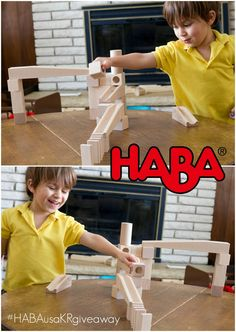 HABA Ball Track Instagram Giveaway! #TakeTimeToPlay