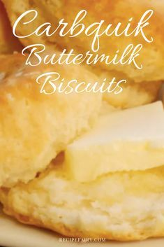 You are lucky to be able to experience the best recipe we've whipped up for the carbquik buttermilk biscuits. Sit back and enjoy! Quick Biscuits, Keto Biscuits, Buttermilk Biscuits, Low Carb Bread, Keto Bread, Low Carb Keto, Diabetic Recipes, Low Carb Recipes, Cooking Recipes