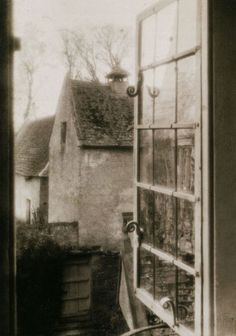 Frederick H. Evans - View from the Tapestry Room, Kelmscott Manor, 1896, Platinum print, From Impressionist Camera - Pictorial Photography in Europe, 1888-1918