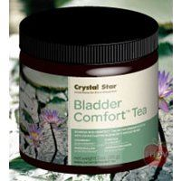 Bladder-Kidney Comfort Tea - 3 oz - Bulk by Crystal Star. Save 31 Off!. $10.33. Crystal Star - Bladder-Kidney Comfort Tea - 3 oz.. Bladder-Kidney Comfort Tea by Crystal Star 3 oz Bulk Bladder-Kidney Comfort Tea Strengthens and nourishes the entire urinary system to help build strength and control. Herbs with antibiotic properties help reduce the harmful bacterium that affect muscular control. DIRECTIONS Take 3 cups daily at the first sign of discomfort then 2 cups daily as a preven...