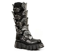 Mens New Rock Boots - Available at www.gothicbootshop.com