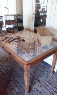 Prachtige oude Franse tafel