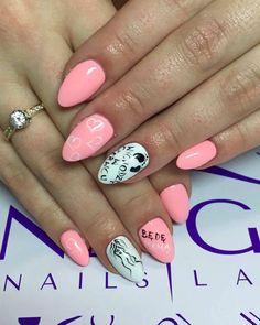 Gel Brush Superwoman & Sugar Effect + Paint Gel by Magdalena Talarczyk #nails #nail #indigo #wow #omg #pink #pastel #white