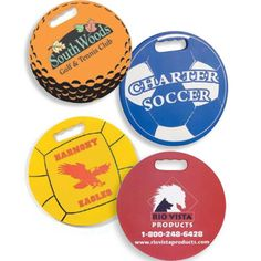"""This round seat sport cushion is 3/4"""" thick and made from new soft and comfortable Softek (TM) closed cell foam. Perfect for sports teams, sports stores, sporting events, team fundraisers and more! Print your logo on one side and your contact information or sponsors on the other side! Each cushion includes a FREE keychain/hand exerciser! Made in the USA! Price includes 1 FREE Color/Location! Choose from 11 fantastic colors! Dimensions: 13.5"""" diameter x 3/4"""" Thick."""