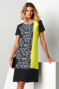 Dresses | Buy Women's Dresses Online - Capture Graphic Shift Dress - EziBuy Australia