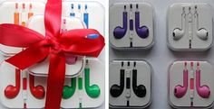 Stocking Stuffer iPhone Headphones with Remote