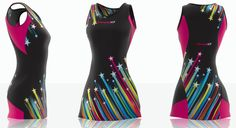 Viper 10 Netball Kit Gallery - Ideas for your Club, University & Tour! Netball Dresses, Rubber Rain Boots, Designer Dresses, Gallery, Check, Fashion, Moda, Designer Gowns
