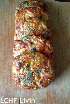 Low Carb Recipes, Cooking Recipes, Healthy Recipes, Lchf, K Food, Low Carb Bread, Pizza, Italian Recipes, Great Recipes