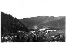 Sør-Trøndelag fylke Midtre Gaudal kommune Støren - Oversikt fra bygda. Utg A. Skarbö, Oslo Ubrukt 1920