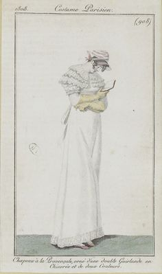 Reading 1808 Costume parisien