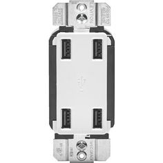 Leviton 4 Port USB Charging Outlet