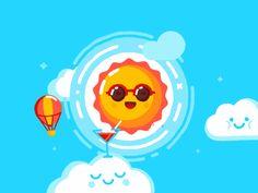 Goodbye Summer by Slava Romanov #Design Popular #Dribbble #shots
