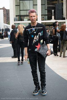 Kyle Anderson - New York Street Style