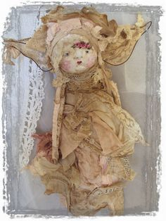 Comfort Fairy Angel Art Doll by Mosshillstudio on Etsy