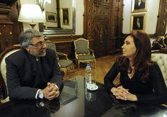 Cristina Fernandez de Kirchner se reunió con el ex presidente paraguayo Fernando Lugo.