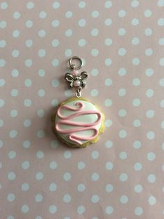 Kawaii Polymer Clay Sugar Cookie Charm, Kawaii Faux Food, Sweet Jewelry, Polymer Clay Charms on Etsy, $8.00
