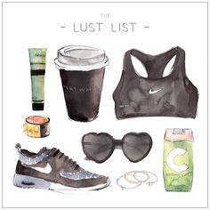 LUST LIST | Sporty Start