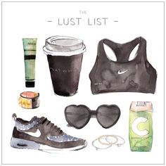 LUST LIST | Sporty Start