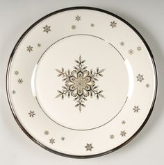 Solitaire Christmas pattern by Lenox China Started collecting this pattern. I love it
