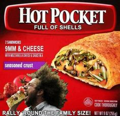 how long to microwave hot pocket